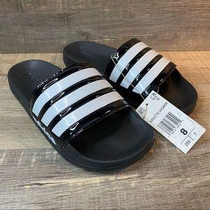 Adidas x Takahashi Hiroko Adilette Shower Slides